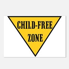 Child-Free Zone Postcards (Package of 8)