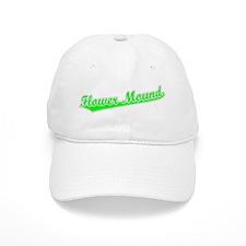 Retro Flower Mound (Green) Baseball Cap