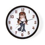 Pre Teen Wall Clock