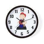 Lil Slugger Wall Clock