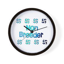 Non Breeder Wall Clock