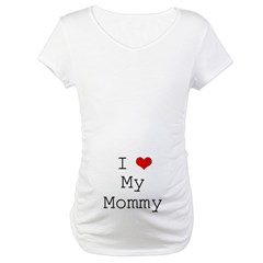 I Heart My Mommy Shirt