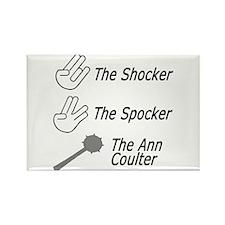 the shocker, the spocker, the Rectangle Magnet