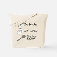 the shocker, the spocker, the Tote Bag