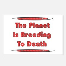 Breeding To Death Postcards (Package of 8)