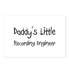 Daddy's Little Recording Engineer Postcards (Packa