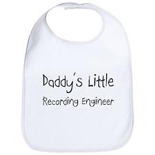 Daddy's Little Recording Engineer Bib
