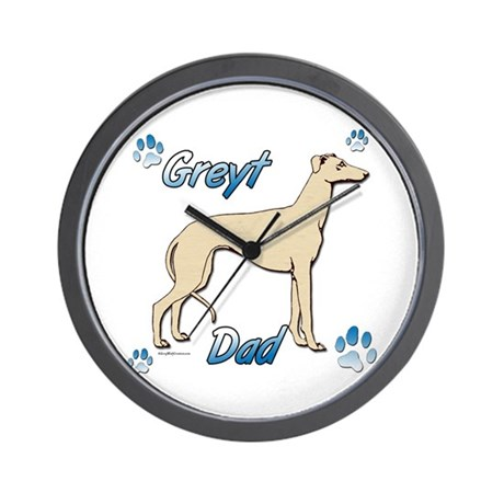 Greyt Fawn Wall Clock