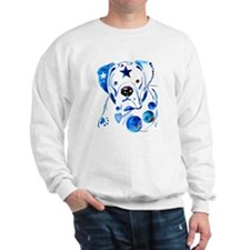 Whimzical Boxer Sweatshirt
