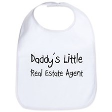 Daddy's Little Real Estate Agent Bib