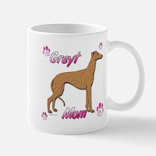 Greyt mom red/brin Mug