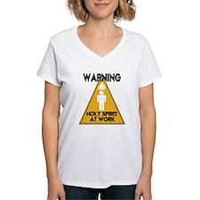 WARNING: Holy Spirit at Work Shirt