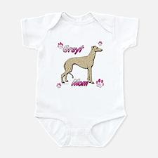Greyt mom fawn/brin Infant Bodysuit
