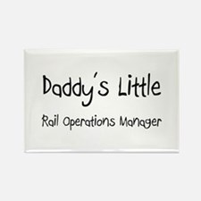 Daddy's Little Rail Operations Manager Rectangle M