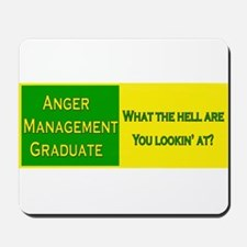 Anger Management Funny Mousepad