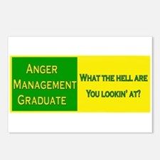 Anger Management Funny Postcards (Package of 8)