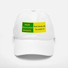 Anger Management Funny Baseball Baseball Cap
