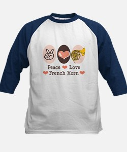 Peace Love French Horn Tee