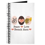 Peace Love French Horn Journal