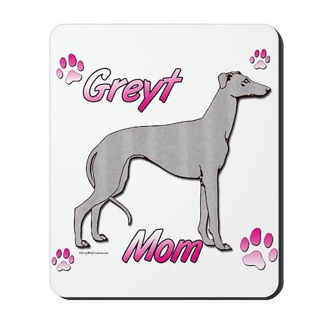 Greyt mom blue Mousepad