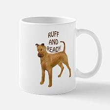 Irish terrier ruff Mug