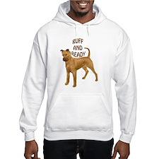 Irish terrier ruff Hoodie