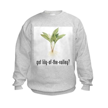 Lily of the Valley Kids Sweatshirt