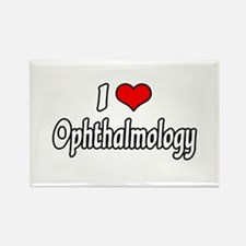 """""""I Love Ophthalmology"""" Rectangle Magnet"""