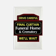 DRIVE CAREFULLY Rectangle Magnet