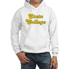 Retro State College (Gold) Hoodie
