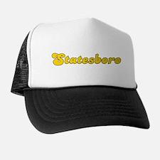 Retro Statesboro (Gold) Trucker Hat