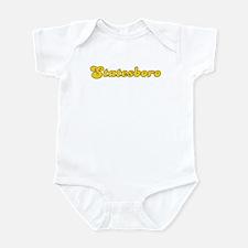Retro Statesboro (Gold) Infant Bodysuit