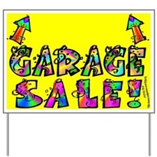 Garage Sale Yard Sign (Up Arrow)