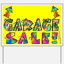 Garage Sale Yard Sign (Up Arrow)