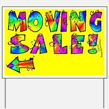 Estate Sale Yard Signs Custom Yard Amp Lawn Signs Cafepress