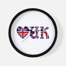 Love UK Wall Clock