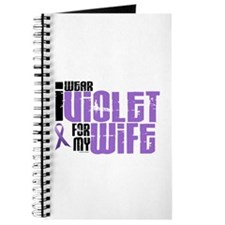I Wear Violet For My Wife 6 Journal