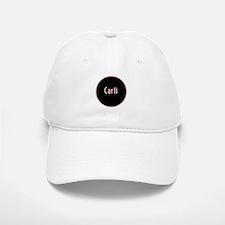 Carli - Pink Circle Baseball Baseball Cap