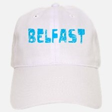 Belfast Faded (Blue) Baseball Baseball Cap