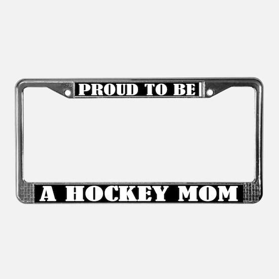 Hockey Mom License Plate Frame