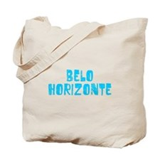 Belo Horizonte Faded (Blue) Tote Bag