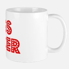 Retro Press officer (Red) Mug