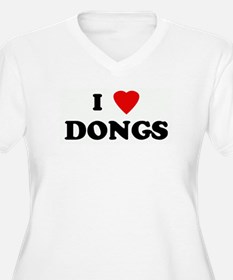 I Love DONGS T-Shirt