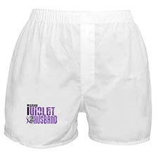 I Wear Violet For My Husband 6 Boxer Shorts