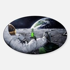 astronaut beer Decal