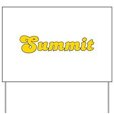 Retro Summit (Gold) Yard Sign