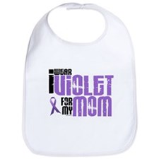 I Wear Violet For My Mom 6 Bib
