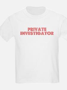 Retro Private Inv.. (Red) T-Shirt