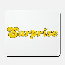 Retro Surprise (Gold) Mousepad