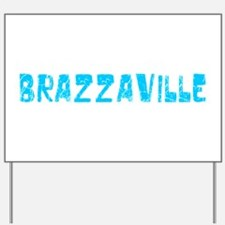 Brazzaville Faded (Blue) Yard Sign